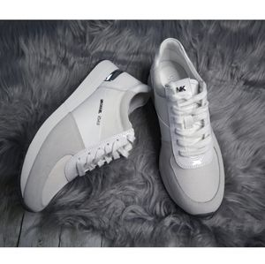 Michael Kors (NWOT)Allie Trainer White Sneakers